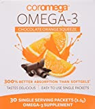 Cheap COROMEGA Squeeze Nutritional Supplement, Chocolate, 30 Count