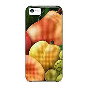 Protective Tpu Case With Fashion Design For Iphone 5c (juice Fruit)