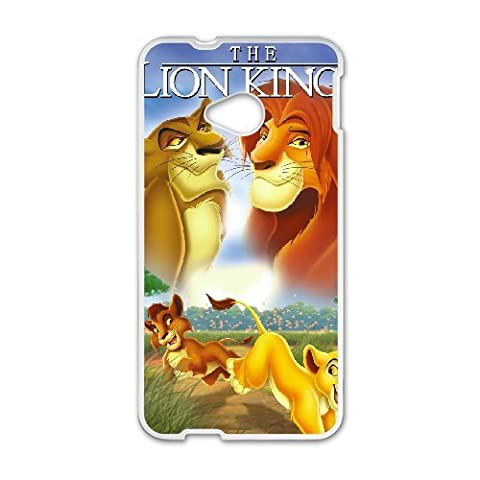 HTC One M7 Phone Case The Lion King Q22Q389135 (Lion King Htc One M7 Case)