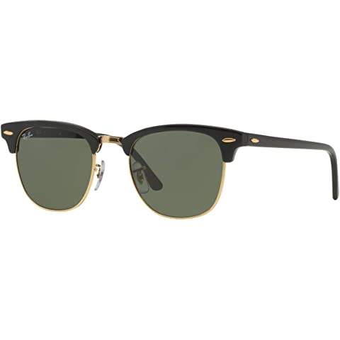 e7484c4081e9d Amazon.com  Ray-Ban RB3016 Classic Clubmaster Sunglasses  Clothing