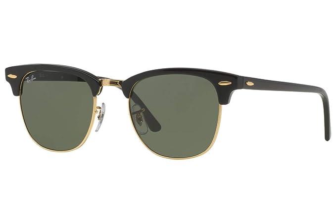 Amazon.com: Ray-Ban RB3016 Clubmaster Classic - Gafas de sol ...