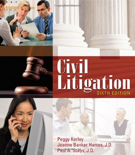 Civil Litigation by Cengage Learning