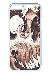 iphone 4/4s inch Case and Cover -Skull 2 PC case Cover for iphone 4/4s and iphone 4/4s inch White