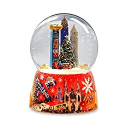 NYC Times Square Christmas Tree Water Globe