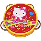 Hello Kitty Sanrio Mini Tambourine Kid Size - Yellow