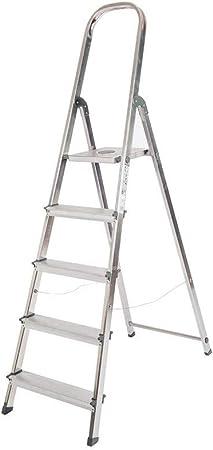 Escalera Rolser Aluminio Unica 5 Peldaños: Amazon.es: Bricolaje y herramientas