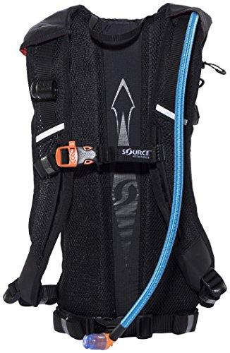 SOURCE Rapid Backpack Trinkrucksack 3 L Black 2017 Outdoor-Rucksack damen herren