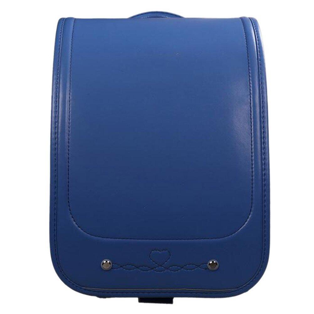 Fashion maker(F&M)ランドセル 小学生 A4フラットファイル対応 撥水加工 大容量 多機能 軽量 シンプル 可愛い お祝い 贈り物 入学式 プレゼント 男の子 女の子 全7色 (ブルー) B079DM2DSB ブルー