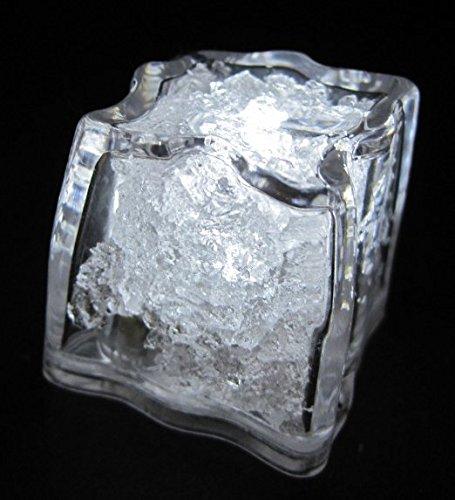 LiteCubes Brand White LED Light Up Ice Cube
