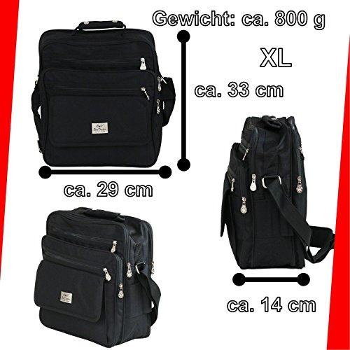 Borsa Lavoro Messenger Pranzo Spuntino Grande Star Dragon Work Bag Taglia XL