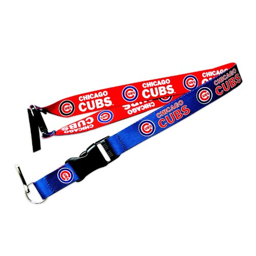 Chicago Cubs Reversible Clip Lanyard Keychain Id Ticket Holder
