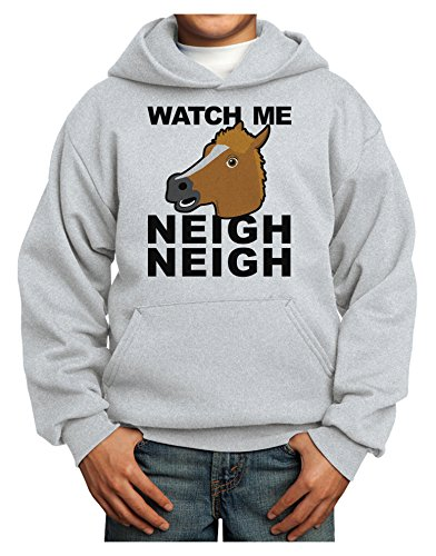 tooloud-watch-me-neigh-neigh-youth-hoodie-ash-large