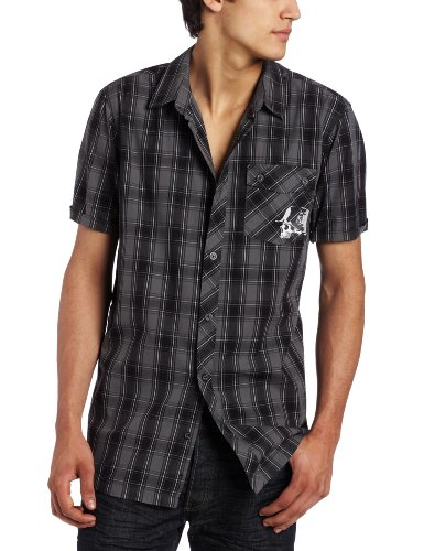 Metal Mulisha Men's Sanction Buttondown Shirt, Multi, X-Large