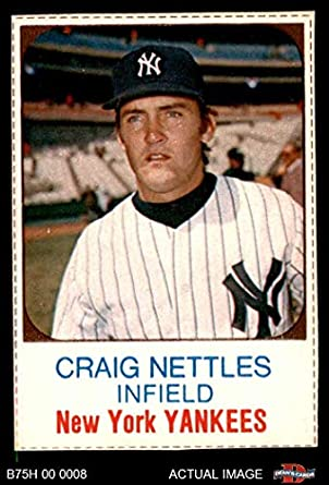 Amazoncom 1975 Hostess 24 Graig Nettles New York Yankees