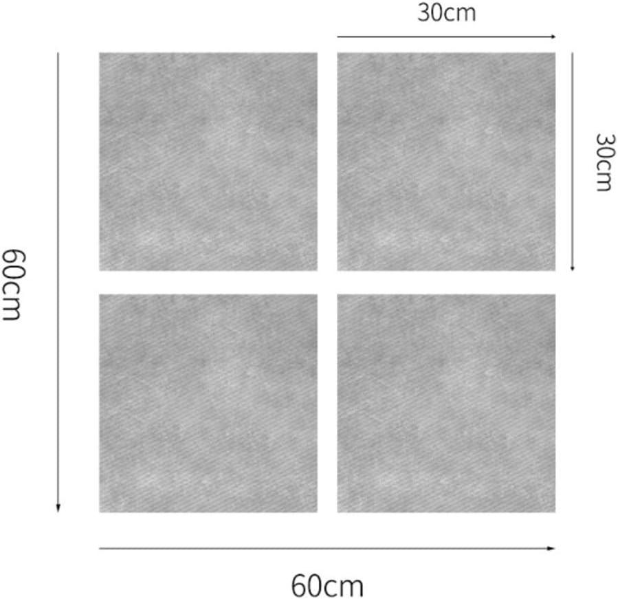 Piastrella Adesivo per Pavimento Bagno Grigio Marmo Autoadesivo Adesivo per pavimento Adesivo per piastrelle Adesivo per pavimento impermeabile Camera da letto,1