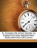 El Estado de Sitio Según la Constitución Argentin, San Juan, 1149671998