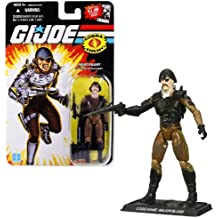 """Hasbro Year 2008 G.I. JOE """"25th Anniversary"""" Comic Series 4 Inch Tall Action Figure - Mercenary MAJOR BLUDD with Missile Launcher, Missile Holder Backpack with 3 Missiles and Display Base"""