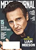 Men's Journal magazine (January 2017 / February 2017) The Unbreakable Liam Neeson | The Best Cars of the Year