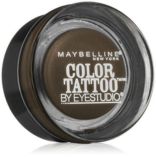 Maybelline New York Eye Studio Color Tattoo Leather 24 HR Cream Gel Eyeshadow, Deep Forest, 0.14 Ounce