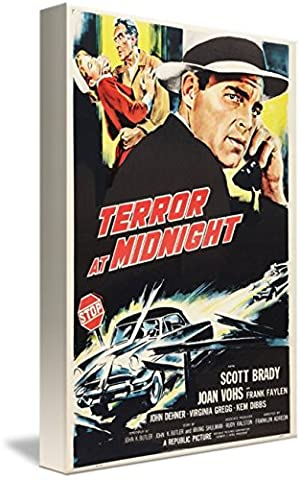 Wall Art Print entitled Terror At Midnight - 1956 by MMG Archives | 16 x 24 (Mummy At Midnight)