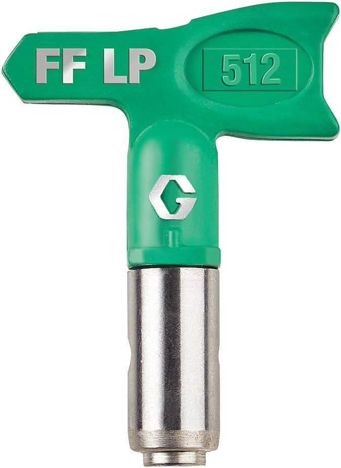 Graco FFLP512 Fine Finish Low Pressure RAC X Reversible Tip for Airless Paint Spray Guns