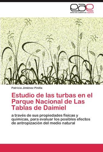 Descargar Libro Estudio De Las Turbas En El Parque Nacional De Las Tablas De Daimiel Jiménez Pinilla Patricia