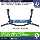 Ultimate Body Press Ceiling Mounted Pull Up Bar