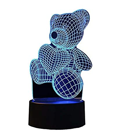 V-MONI LED Night Lights 3D Optical Illusion Visual Lights 16 ...