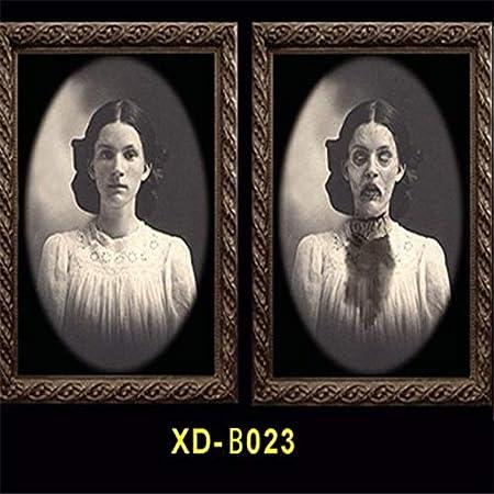 WSCOLL 3D Cambio de Cara Fantasma Marco Horror Decoración de ...