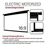 Akia Screens 150 inch Motorized Electric Remote