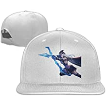 Unisex League Of Legends Ashe Trucker Flat Hats Adjustable
