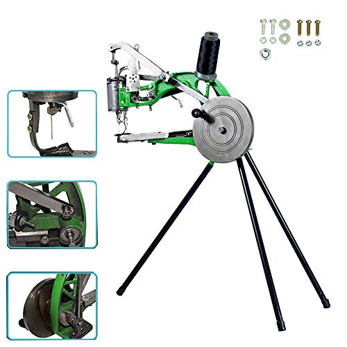 FISTERS Hand Machine Cobbler Shoe Repair Machine Dual Cotton Nylon Line Sewing Machine