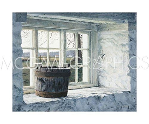 (McGaw Graphics Springhouse Window by Tim Barr, Art Print Poster, Paper Size 20