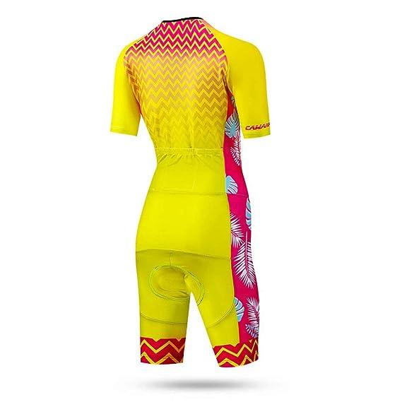 Conjunto de jersey de ciclismo para mujer Traje de triatlón ...