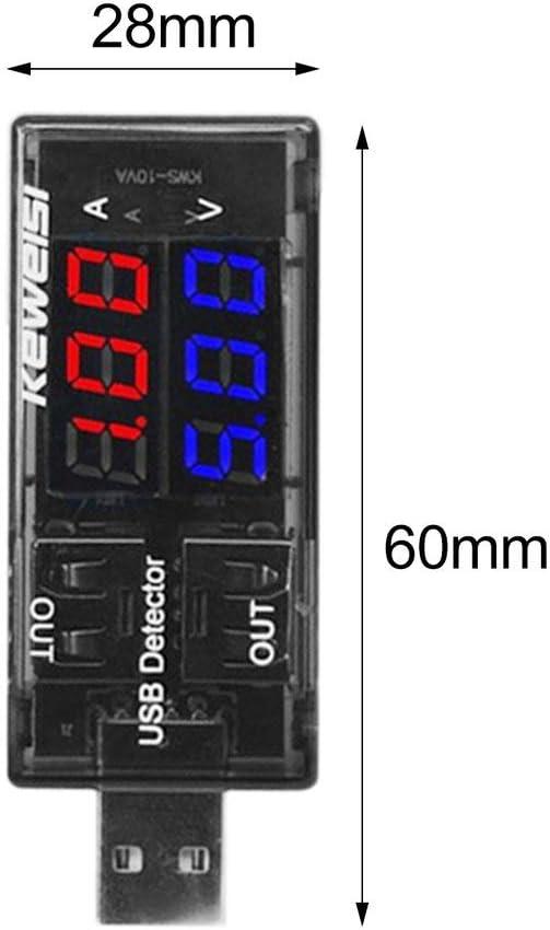 ghfcffdghrdshdfh Dual-Display USB Tester DC Digital Current Voltage Detector Charger Indicator