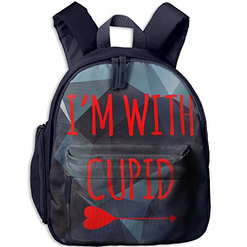 Eagle Wings Costume For Sale (I'm With Cupid Hot Sale Child Shoulder School Bag School Backpack Satchel For Teens Boys Girls Students Navy)
