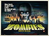 "Dawn of the Dead (Zombi) 1978 Movie Poster 24""x36"""
