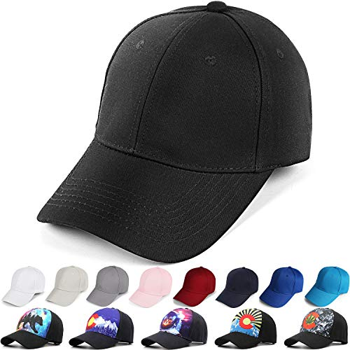 Naicissism Baseball Cap Men Women Classic Plain Hat Twill Low Profile Dad Hat Adjustable -