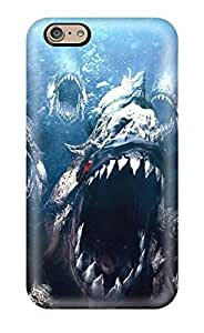 Hot Hot Piranha Tpu Case Cover Compatible With Iphone 6