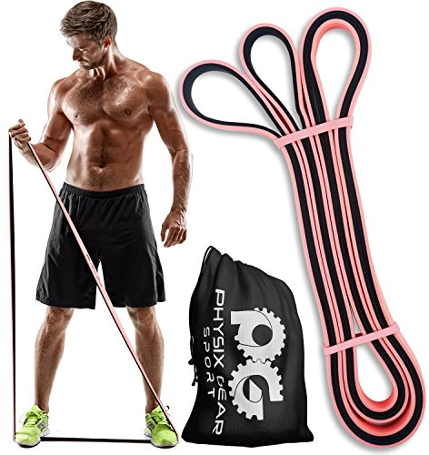 Physix Gear Pull Up Assist Bands Best Heavy Duty