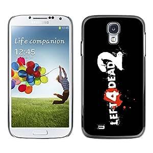 PC/Aluminum Funda Carcasa protectora para Samsung Galaxy S4 I9500 Left Dead / JUSTGO PHONE PROTECTOR