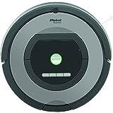 iRobot Roomba 772e Aspirateur Robot, Performances d'Aspiration Elevées, Nettoyage sur Programmation, Enlève les Poils d'Animaux, Gris