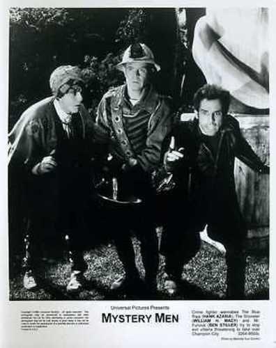 Ben Stiller Hank Azaria William H. Macy Mystery Men Original 8x10