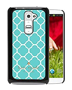 Beautiful DIY Designed Kate Spade Cover Case For LG G2 Black Phone Case 256