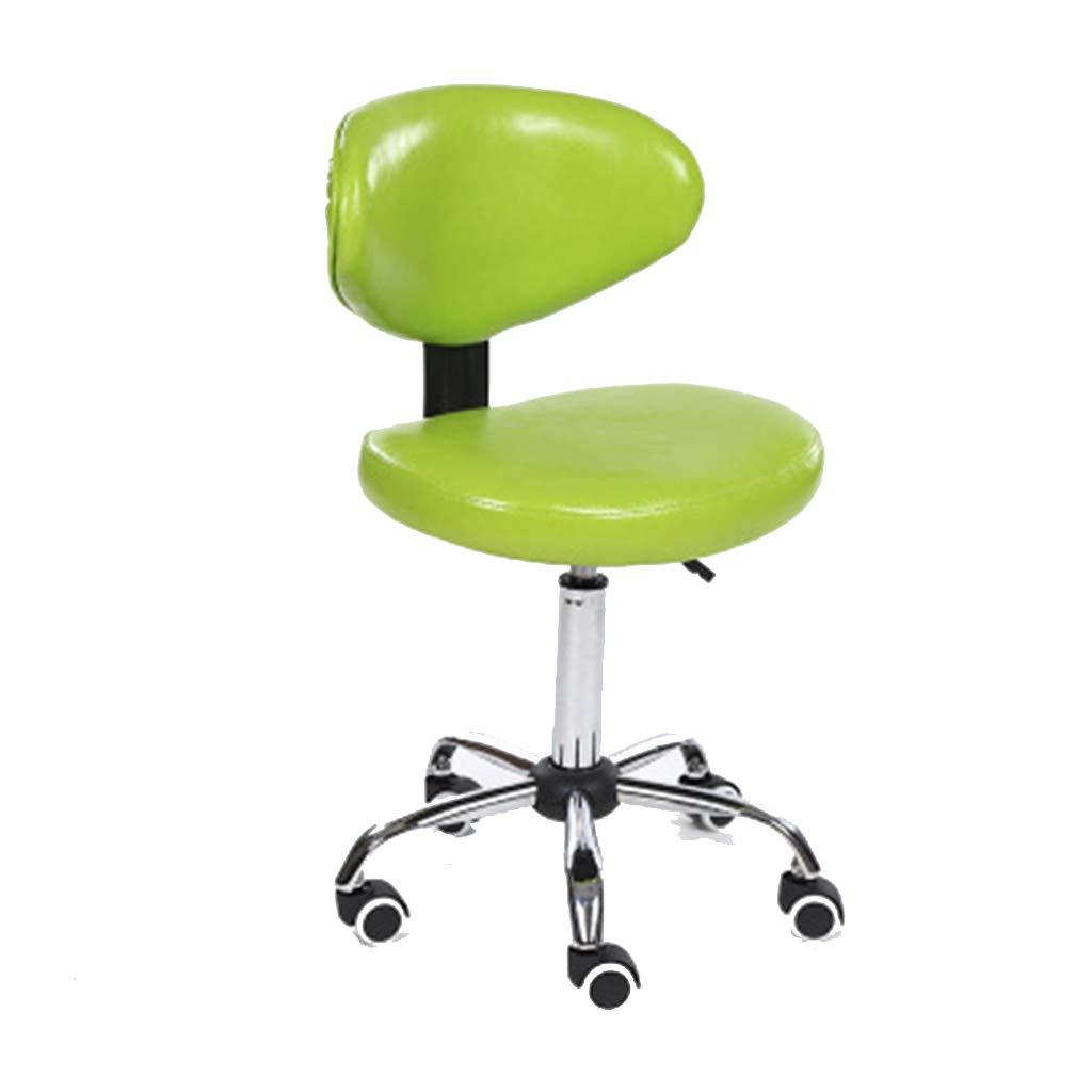 Hxibog Schreibtisch Stühle Moderne Stühle Sessellift Heimcomputer Stuhl Barhocker Schönheit Stuhl Rolle schwenken,Chrome