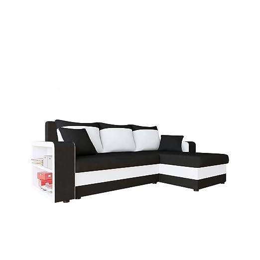 Mirjan24 Sofá Fano, diseño Esquina sofá sofá. con Dos Cama ...