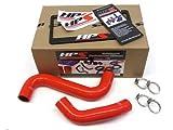 01 02 03 04 05 06 07 Subaru WRX / STI HPS Silicone Radiator Hose Kit Red