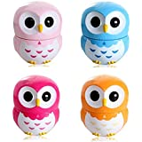 Cute Cartoon Owl 60 Minute Kitchen Mechanical Baking Cooking Countdown Timer Clock Blue by SYM TOP