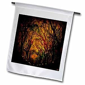 Chris Lord New York - Magic Mall Central Park Trees - 18 x 27 inch Garden Flag (fl_55939_2)