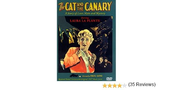 The Cat and the Canary [Reino Unido] [DVD]: Amazon.es: Laura La Plante, Creighton Hale, Forrest Stanley, Tully Marshall, Gertrude Astor, Flora Finch, Arthur Edmund Carewe, Martha Mattox, George Siegmann, Lucien Littlefield, Billy